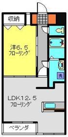 クレストフォルム日吉1階Fの間取り画像