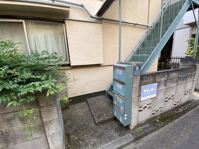 今井荘駐車場