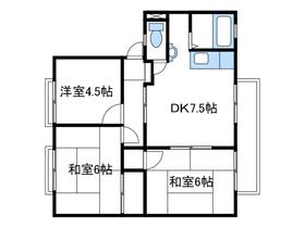 熊沢ハイツ31階Fの間取り画像
