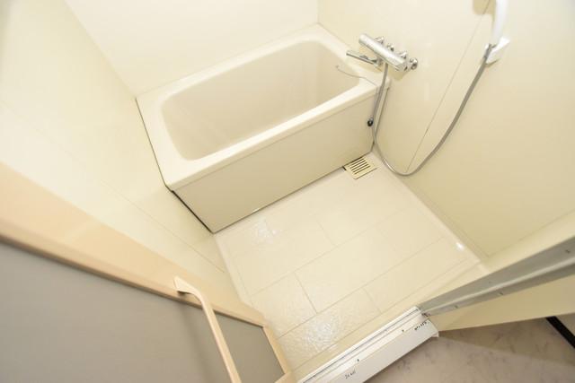 サンオーク タツミ ちょうどいいサイズのお風呂です。お掃除も楽にできますよ。