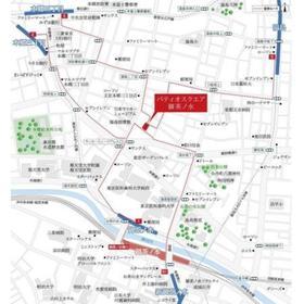 パティオスクエア御茶ノ水案内図