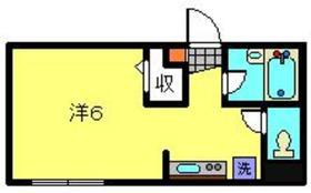 クレドアネックス白楽1階Fの間取り画像
