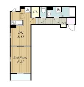 ラピス ブラオ3階Fの間取り画像