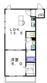 アーバンハウス3階Fの間取り画像