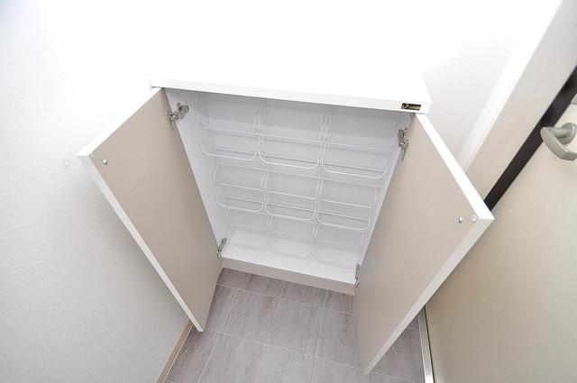 Fmaison verde(エフメゾン ベルデ) 玄関にはコンパクトながらシューズボックスもありますよ。