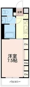 リブリフェリシテ(リブリFELICITE)3階Fの間取り画像