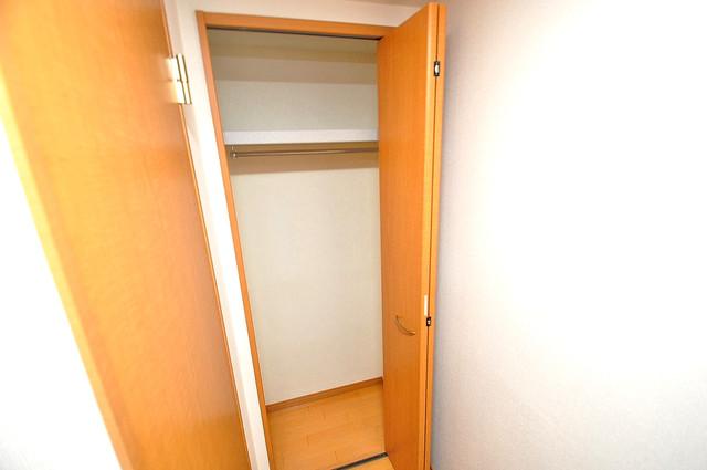 メゾンフレール 各所に収納があるので、お部屋がすっきり片付きますね。