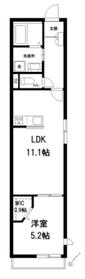 (仮称)本駒込2丁目メゾン1階Fの間取り画像