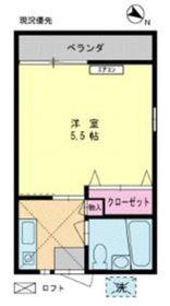 エミネント西生田2階Fの間取り画像
