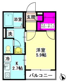 サダバハール 205号室
