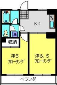 第11エルム大倉山2階Fの間取り画像