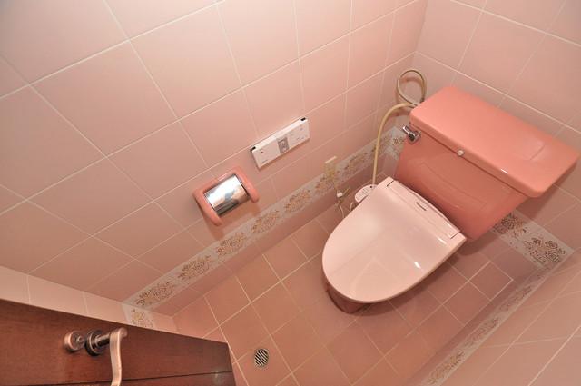 ラ・フォーレ大蓮 清潔感のある爽やかなトイレ。誰もがリラックスできる空間です。