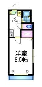 メゾンヴェール3階Fの間取り画像