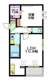 千川玄武館3階Fの間取り画像