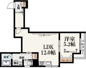 Felice Kitazawa2階Fの間取り画像