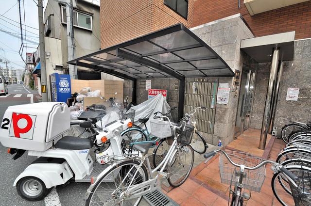 ハイツレバランス あなたの大事な自転車も安心してとめることができますね。