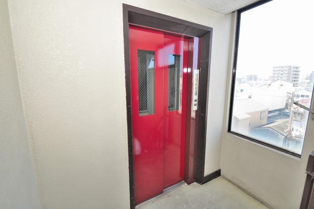 MAISON YAMATO 嬉しい事にエレベーターがあります。重い荷物を持っていても安心