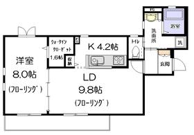 BELTIS椎名町2階Fの間取り画像