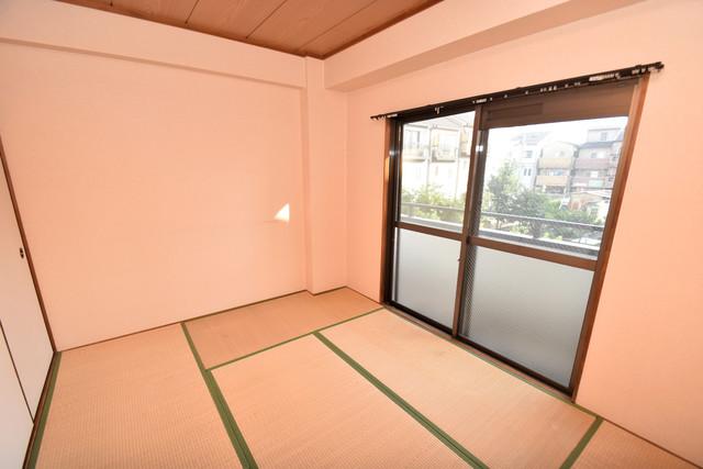 マンションサンパール もうひとつのくつろぎの空間、和室も忘れてません。