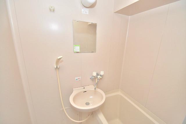 大宝長田ル・グラン 可愛いいサイズの洗面台ですが、機能性はすごいんですよ。