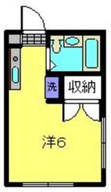 ラ・ヴィッラ2階Fの間取り画像