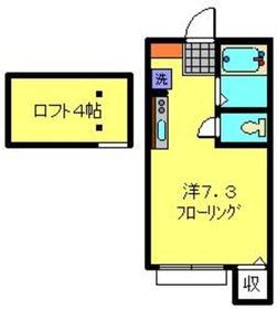 セントヒルズヨコハマ2階Fの間取り画像