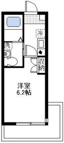 大倉山駅 徒歩8分2階Fの間取り画像