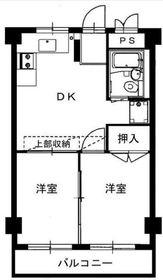 上大岡駅 徒歩15分3階Fの間取り画像