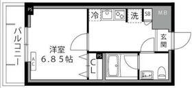 ロックス生田【LOC'S IKUTA】1階Fの間取り画像