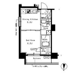 パークアクシス亀戸6階Fの間取り画像