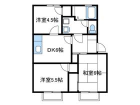 フォーユー桜台壱番館1階Fの間取り画像
