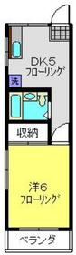 ハウゼシノハラ2階Fの間取り画像