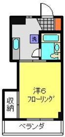 東白楽駅 徒歩6分3階Fの間取り画像