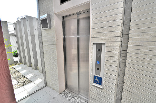 オーク・イマザト ステーション 嬉しい事にエレベーターがあります。重い荷物を持っていても安心