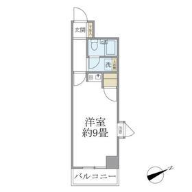 レジデンス・エイノ3階Fの間取り画像