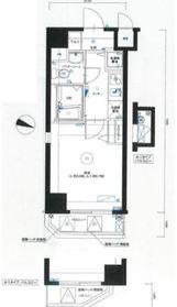 ラ・エテルノ横浜関内5階Fの間取り画像