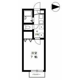 フレア・プランドールA2階Fの間取り画像