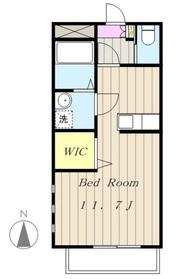 マンションやまぼうし3階Fの間取り画像