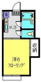 マノハイム2階Fの間取り画像