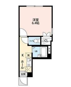 KTS笹塚1階Fの間取り画像