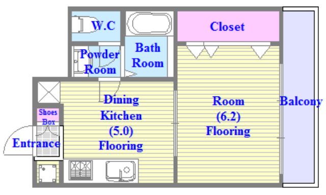 新深江池田マンション システムキッチン。素敵な設備が充実していますよ。