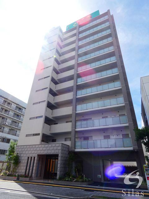 大阪市東住吉区桑津2丁目の賃貸マンションの外観