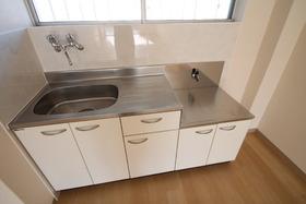 キッチン◇2口コンロ設置可能
