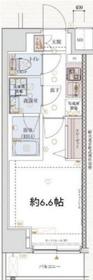 VERXEED横濱PORTO2階Fの間取り画像