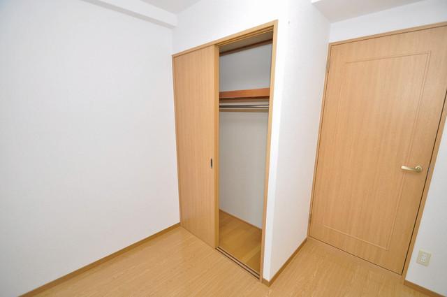 プリムヴェール もちろん収納スペースも確保。いたれりつくせりのお部屋です。