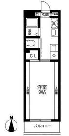 サングレイス湘南4階Fの間取り画像