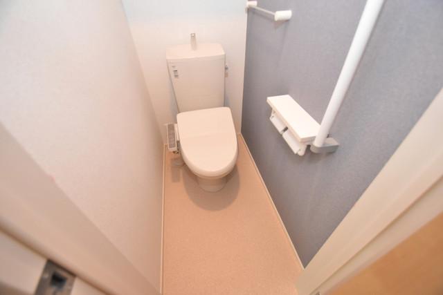 リジエールⅡ 清潔感たっぷりのトイレです。入るとホッとする、そんな空間。