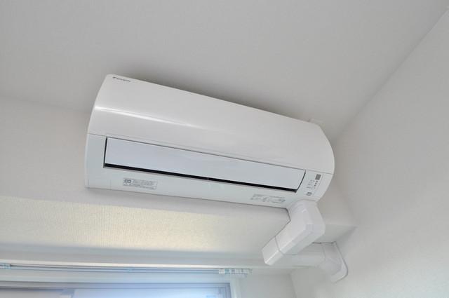 プレミアム菱屋西 エアコンが最初からついているなんて、本当にうれしい限りです。