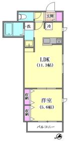天寿2nd 301号室