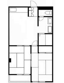 板橋興産ビル3階Fの間取り画像